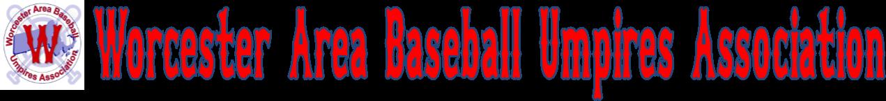 Worcester Area Baseball Umpires Association Logo